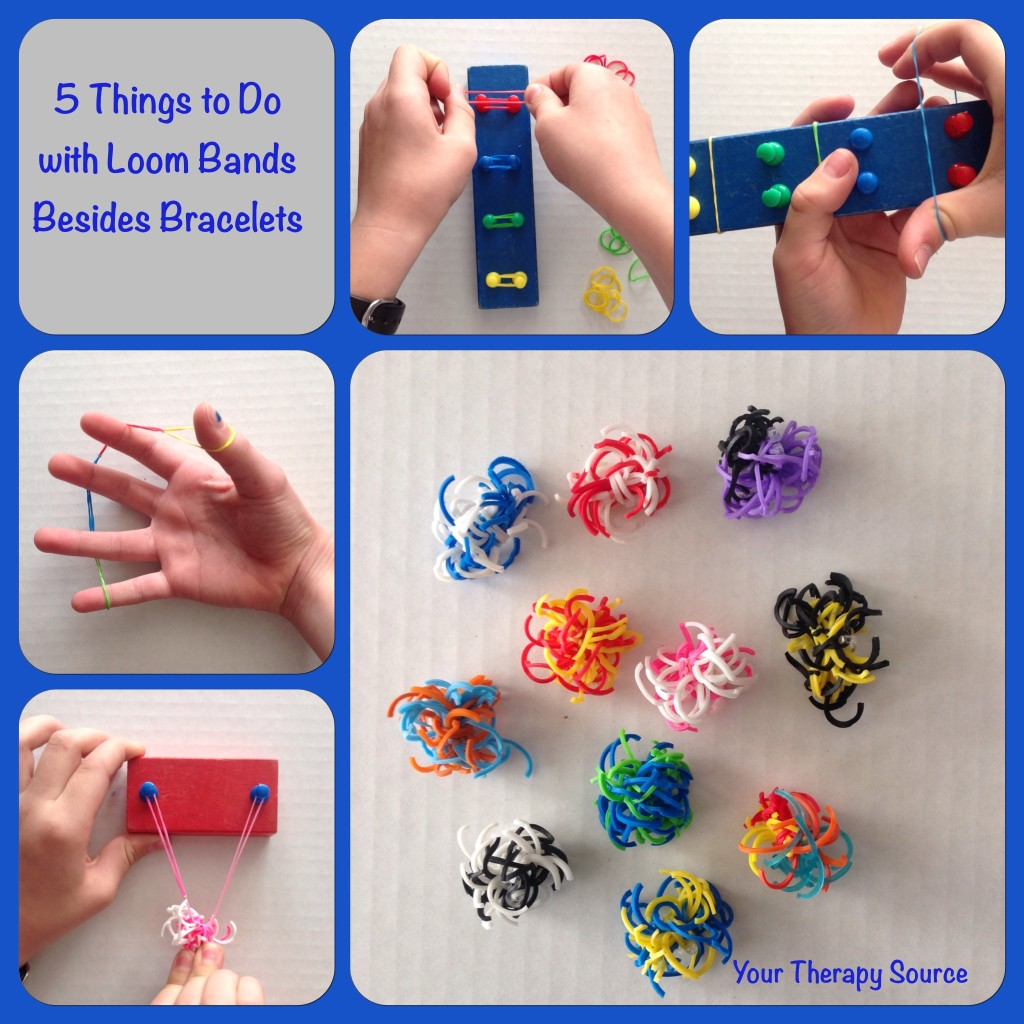 5 Things to Do with Loom Bands Besides Bracelets
