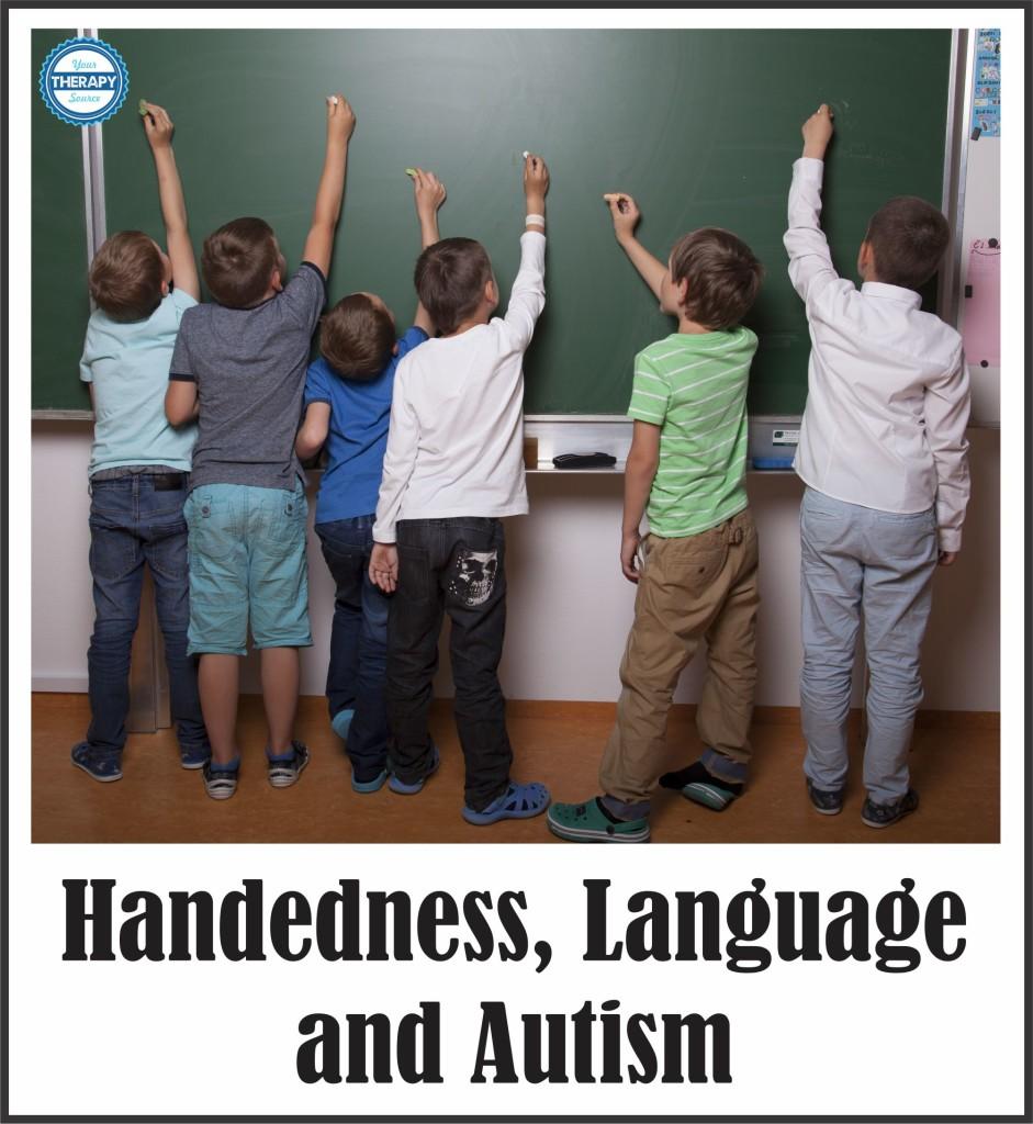 Handedness, Language and Autism
